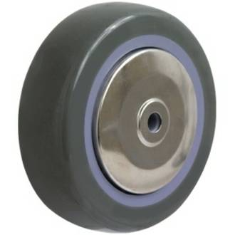 100mm Grey Polyurethane Wheel for SS Castors